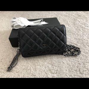 Sold Chanel  WOC clutch